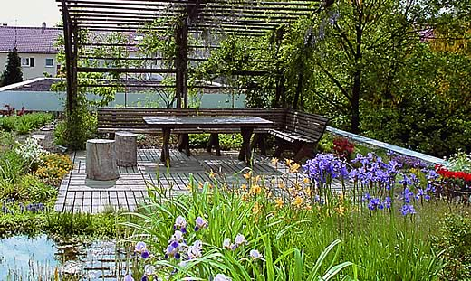 Bepflanzung und dachbegr nung p hler gut reelsen - Garten und landschaftsbau paderborn ...