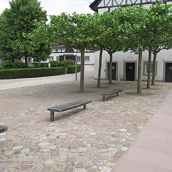 Neugestaltung des Schlossinnenhofes – Kulturgut Fürstenberg