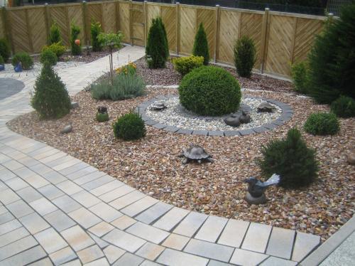 Gartengestaltung mit steinbeeten in paderborn p hler gut - Garten und landschaftsbau paderborn ...