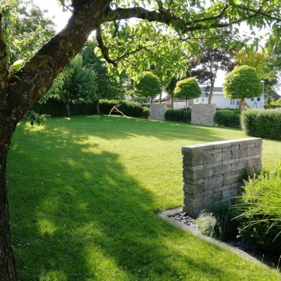 Gartengestaltung mit Sichtschutzelementen
