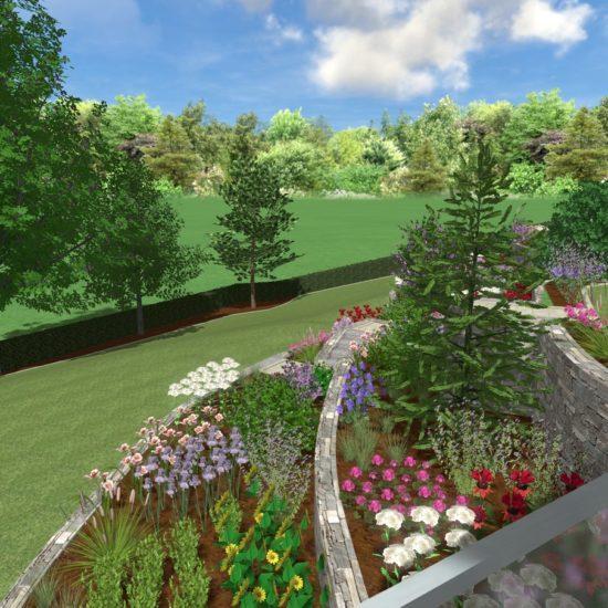 Entwürfe – Gartenplanung